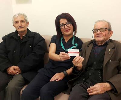 91 yaşında organlarını bağışladı