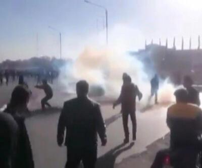 İran'da enflasyon protestosu