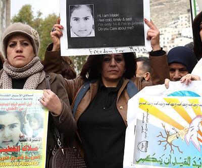 Filistinli küçük 'Melek' serbest bırakıldı