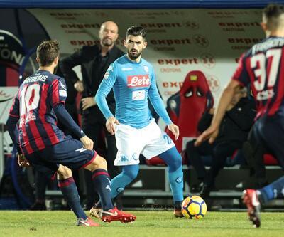 Napoli 2017'yi lider kapattı