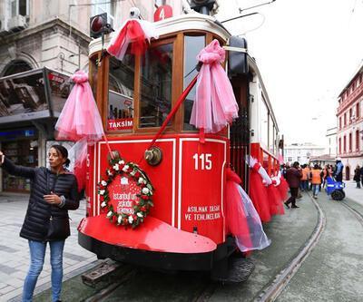 Nostaljik tramvaylar geri döndü