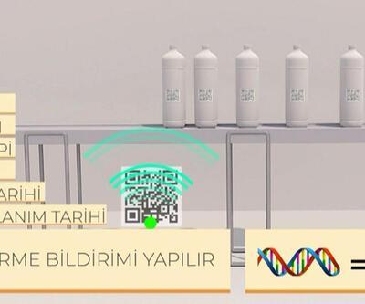 Nitratlı gübreye karekod ve DNA barkodu