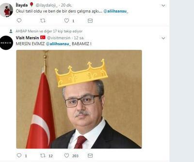Vali sosyal medyada 'kral' ilan edildi