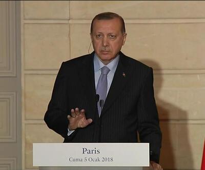 Erdoğan'dan Fransız gazeteciye tepki: Sen FETÖ ağzıyla konuşuyorsun