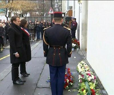 Charlie Hebdo saldırısında hayatını kaybedenler anıldı