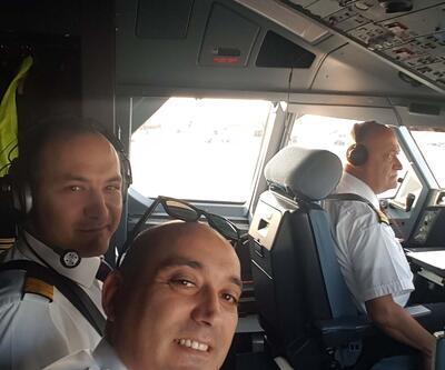 THY pilotu böyle veda etti