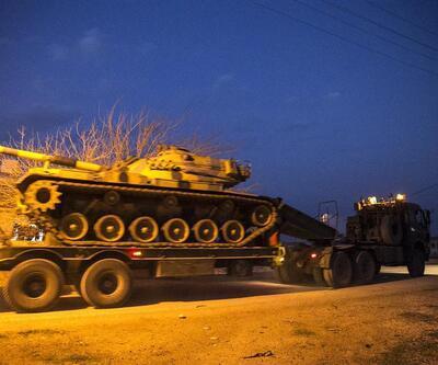 Suriye sınırında sıcak gelişme! Tanklar ulaştı