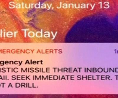 Hawaii'deki yanlış füze alarmının sebebi belli oldu