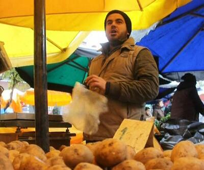 Kurtlar Vadisi'nin cendere müziğiyle patates satan pazarcı
