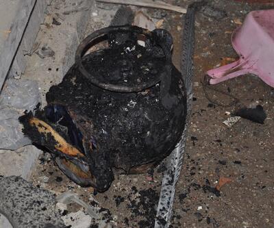 Piknik tüpü bomba gibi patla: 8 dairede hasar oluştu