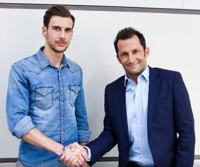 Bayern Münih yeni transferi Leon Goretzka'yı duyurdu