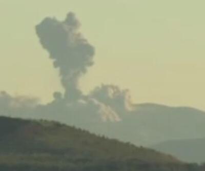 Afrin Türk uçakları tarafından bombalanıyor