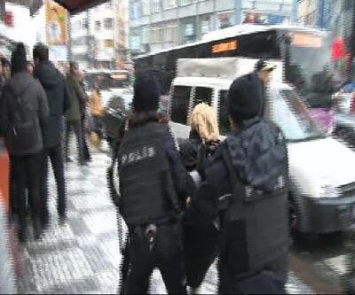 İstanbul'da Afrin protestosuna polis müdahalesi: Çok sayıda gözaltı var