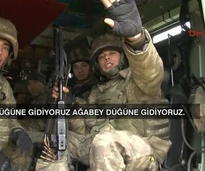 Afrin'e giden askerler: Düğüne gidiyoruz