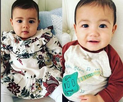 Dünyanın en ünlü ikizleri 7 aylık oldu