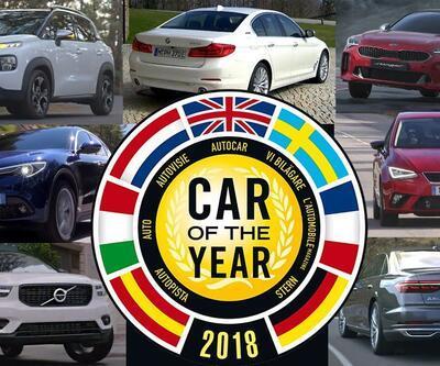 """Avrupa'da """"Yılın Otomobili"""" adayları belli oldu"""