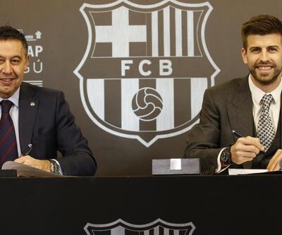 Gerard Pique'nin sözleşmesi uzatıldı