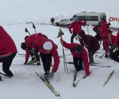Taşımalı kayak antrenmanı