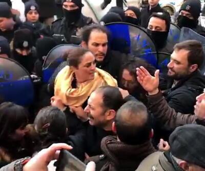 TTB önünde polis müdahalesi