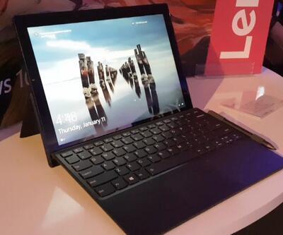 Lenovo Miix 630 tablet PC ön inceleme videosu