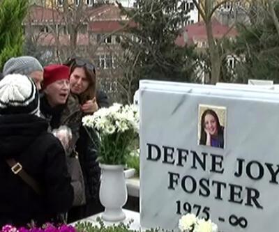 Defne Joy Foster mezarı başında anıldı