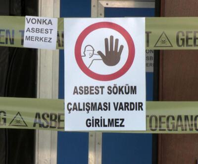 Sokaklarda dolaşan 'asbest' tehlikesine dikkat!