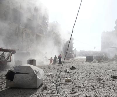 ABD öncülüğündeki koalisyon Deyrizor'a saldırdı: 15 ölü