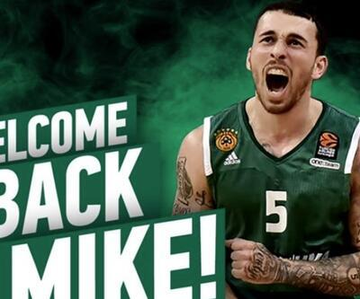 Mike James Panathinaikos'a döndü