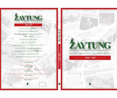 """April Yayıncılık'ın yayınladığı """"Zaytung"""" raflarda yerini alıyor"""