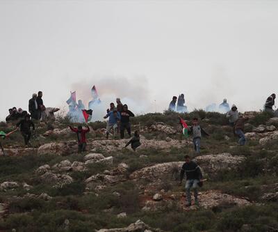 Zeytin ağacı dikmek isteyen Filistinlilere müdahale