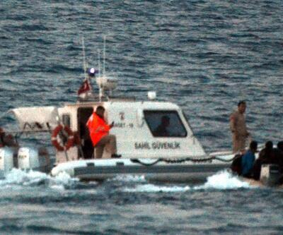 Ölüme sürüklenen göçmenler böyle kurtarıldı