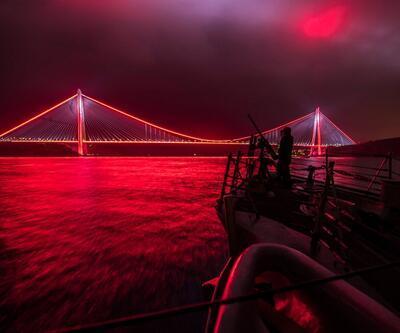ABD Donanması bu fotoğrafı paylaştı