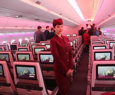 Dünyada bir ilk: Uçak koltukları çift kişilik yatak oldu