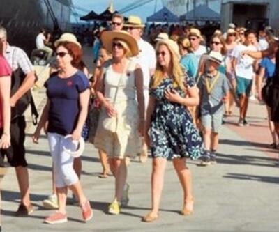 Yunanistan'da turist sayısı 2017'de arttı