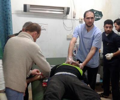 Halı sahada top oynayanları öldüren YPG'lilerin mevzileri vuruldu