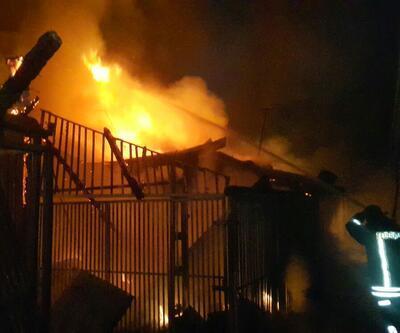 Osmaniye'de çarşıda yangın çıktı, 20 dükkan yandı