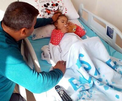 5 yaşındaki Elçin Alanç kır çiçekleriyle uğurlandı