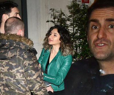 Bekir Aksoy sevgilisiyle yakalandı
