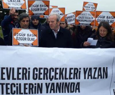 Halkevleri'nden tutuklu gazetecilere ziyaret