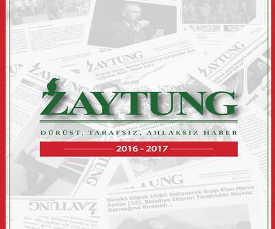 """April Yayıncılık'dan """"Zaytung Almanak"""" raflarda yerini aldı"""