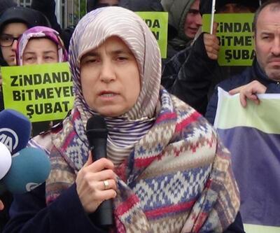 """İstanbul Adalet Sarayı önünde """"28 Şubat"""" protestosu"""