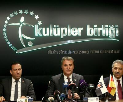 Kulüpler Birliği Yasası'nın mayısta çıkarılmasını istediler