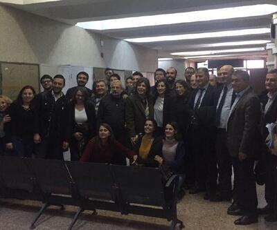 Dilşat Aktaş'ın da aralarında olduğu Halkevleri üyeleri serbest