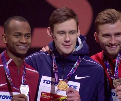 Yüksek atlamada zafer Rus sporcuların oldu