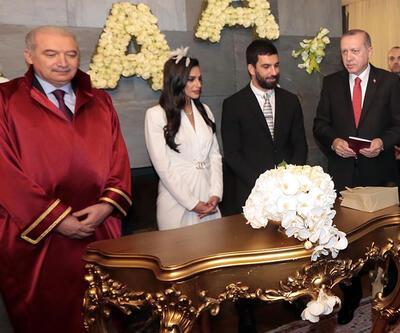 Arda Turan evlendi, nikah şahitliğini Cumhurbaşkanı Erdoğan yaptı