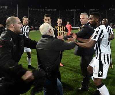 Yunanistan'da maçlar askıya alındı