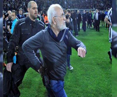 Kulüp başkanı belinde silahla sahaya girdi, lig süresiz tatil edildi
