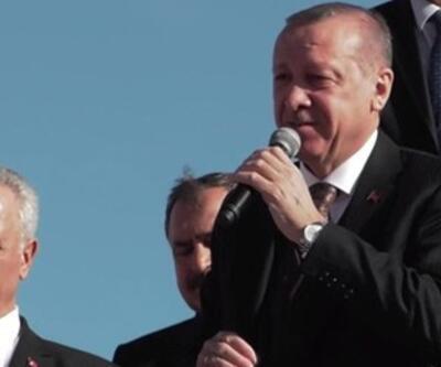 Cumhurbaşkanı Erdoğan: 1915 Çanakkale Köprüsü'nün 18 ay erken açacağız