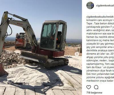 Göbeklitepe'ye yapılan beton çalışma tepki yarattı