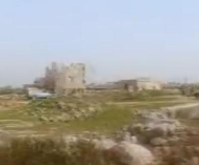 Tel Rıfat'ın batısındaki köy teröristlerden temizlendi